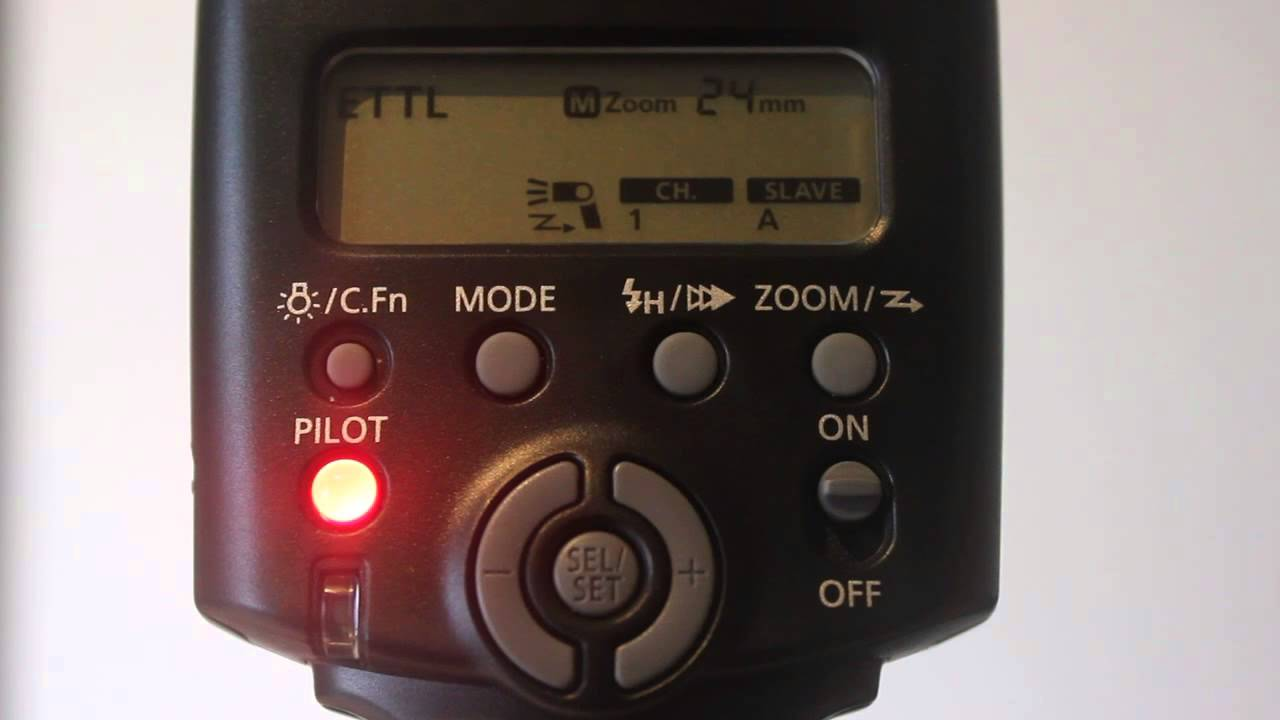 Canon 430EX II Speedlite Flash - YouTube