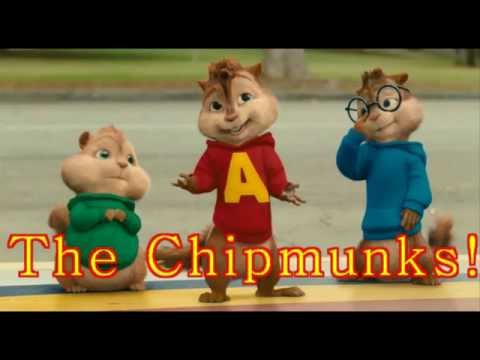 Chipmunks~ U spin me round like a record , before and after!