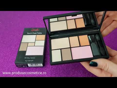 Paleta pentru machiaj SLEEK MakeUP Eye & Cheek Palette – All Day Soiree