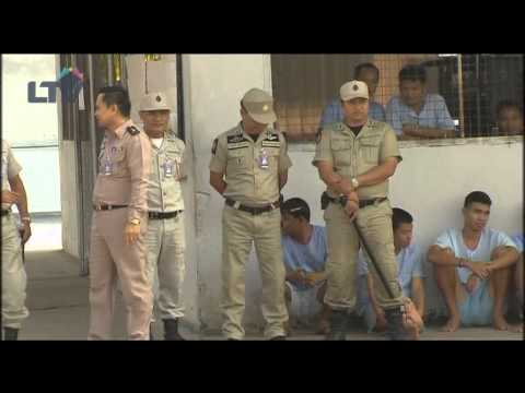 Holland PSV Eindhoven visits Thai prison