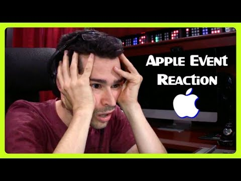 Apple Event Reaction - iPhone 8 and iPhone X | September 12, 2017