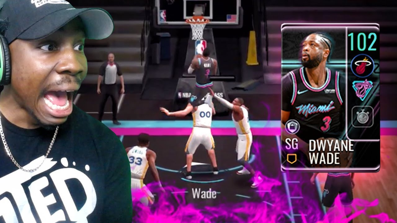 102 OVR WADE JUMPS OVER OPPONENT! (NBA $$ Giveaway) NBA ...