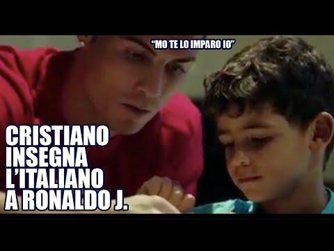 Ronaldo insegna L'ITALIANO a RONALDO JUNIOR