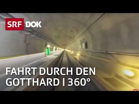 Gotthard 360° - Tunnel Durchfahrt