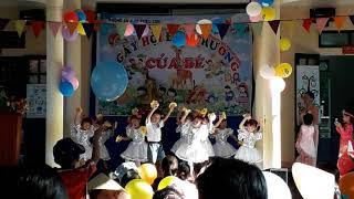 Học sinh trường mầm non xã xuân thọ, múa hát khai giảng năm học 2018-2019