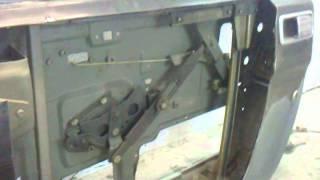 Мастерская Интерактивной Реставрации: Устройство  стеклоподъёмника  ГАЗ3110 Волга (вид изнутри)(Видео работы механизма + работа нового стеклоподъёмника в двери моего проекта ГАЗ-310221