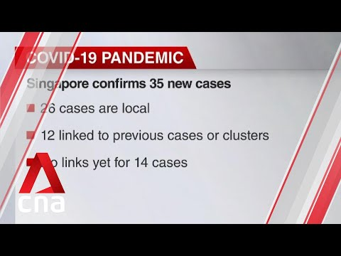 Singapore confirms 35 new cases of COVID-19