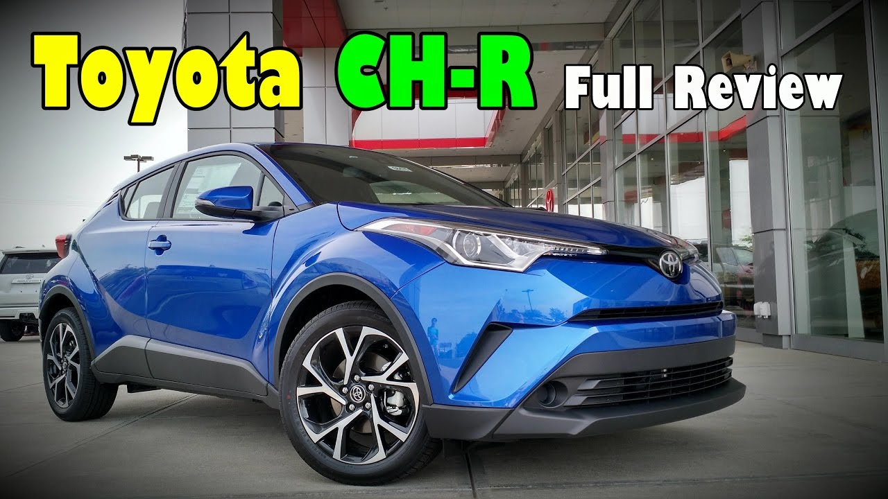 Toyota Chr Malaysia >> 2018 Toyota CH-R: Full Review | XLE Premium & XLE | Doovi