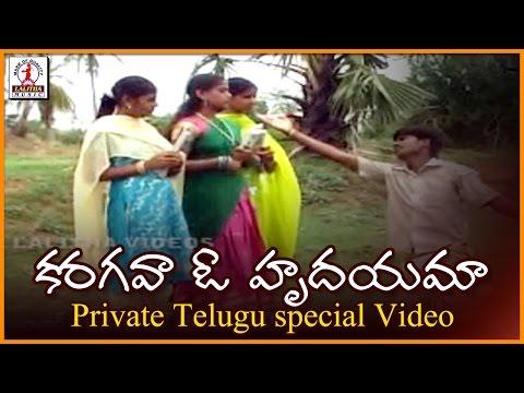 Special Telugu Love Songs | Karagava O Hrudayama Song | Lalitha Audios And Videos