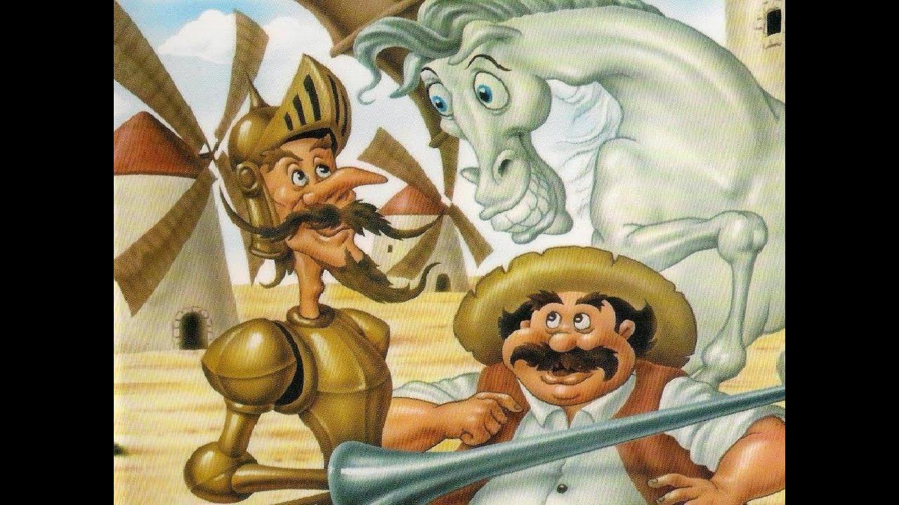 Ver Don Quijote de la Mancha (Dibujos Animados) en Español