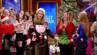 Kate Winslet Commits to Her Ugly Christmas Sweater Look