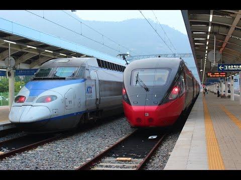 무궁화호 새마을호 KTX 누리로 기차동영상모음 콜렉션