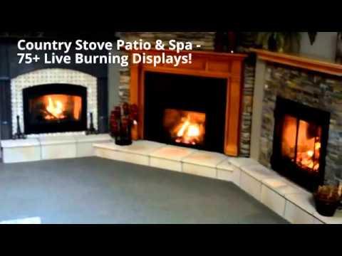 Country Stove Patio Spa Showroom Youtube