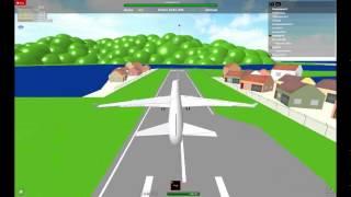 ROBLOX: Airbus A340-300 Crash