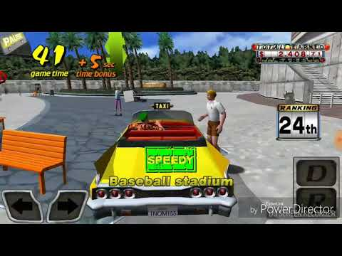 Game play of Crazy Taxi |
