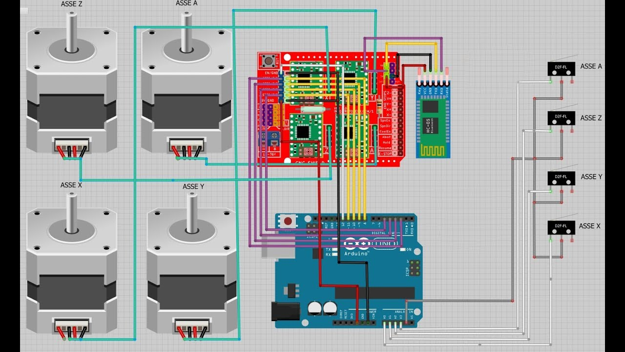 Arduino Uno Cnc Shield V3 Pinout
