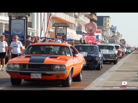 OCMD Cruisin' 2015 - Accelerations // Burnouts // Sounds