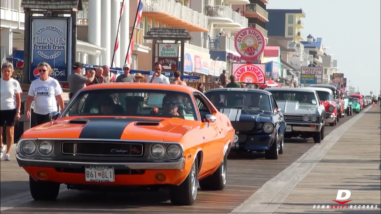 OCMD Cruisin\' 2015 - Accelerations // Burnouts // Sounds - YouTube