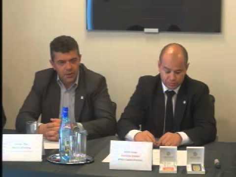 Conferinta   de presa  organizata  de Concernul austriac Arteus Capital GmbH