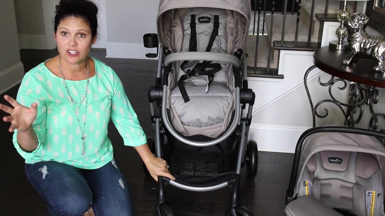 Evenflo Pivot Stroller Travel System with Car Seat Baby Gizmo Review ... 6cc612801
