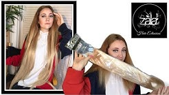 """Zala 30"""" human hair extensions review/first impression!"""