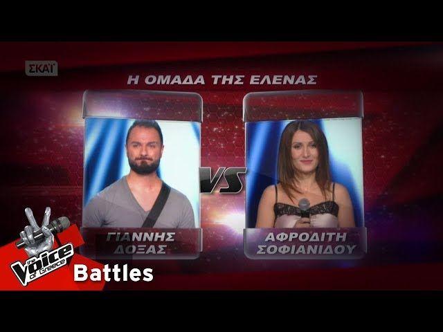 ??????? ????? vs ???????? ?????????? - ?????????? | 5o Battle | The Voice of Greece