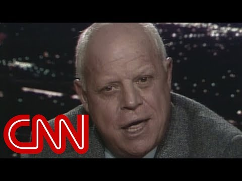 Don Rickles makes Larry King cry laughing (1985)