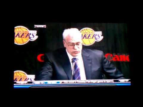Phill says Kobe screwed up the game!!! WOW!!