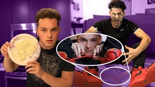 TIED SHOE SMACK CAM PRANK (PAINFUL ENDING)
