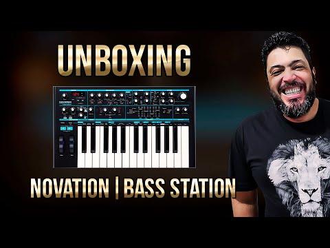 UNBOXING   Sintetizador Novation Bass Station II