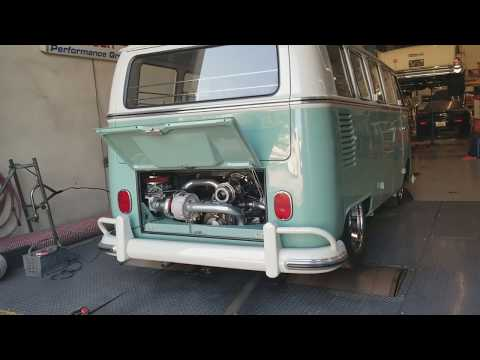 What Did My 64 Aircooled VW Turbo Bus Make On The Dyno?