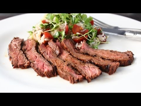 Marsala Marinated Skirt Steak - Easy Grilled Skirt Steak Recipe