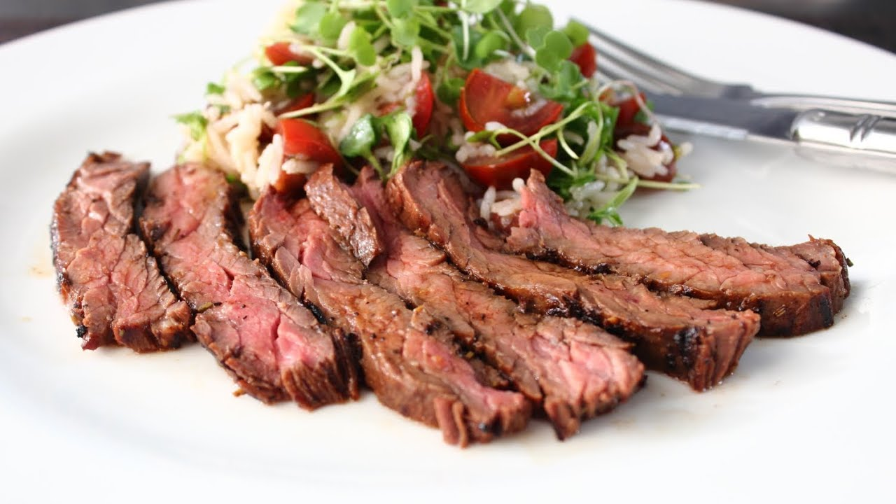 Grilling Skirt Steak