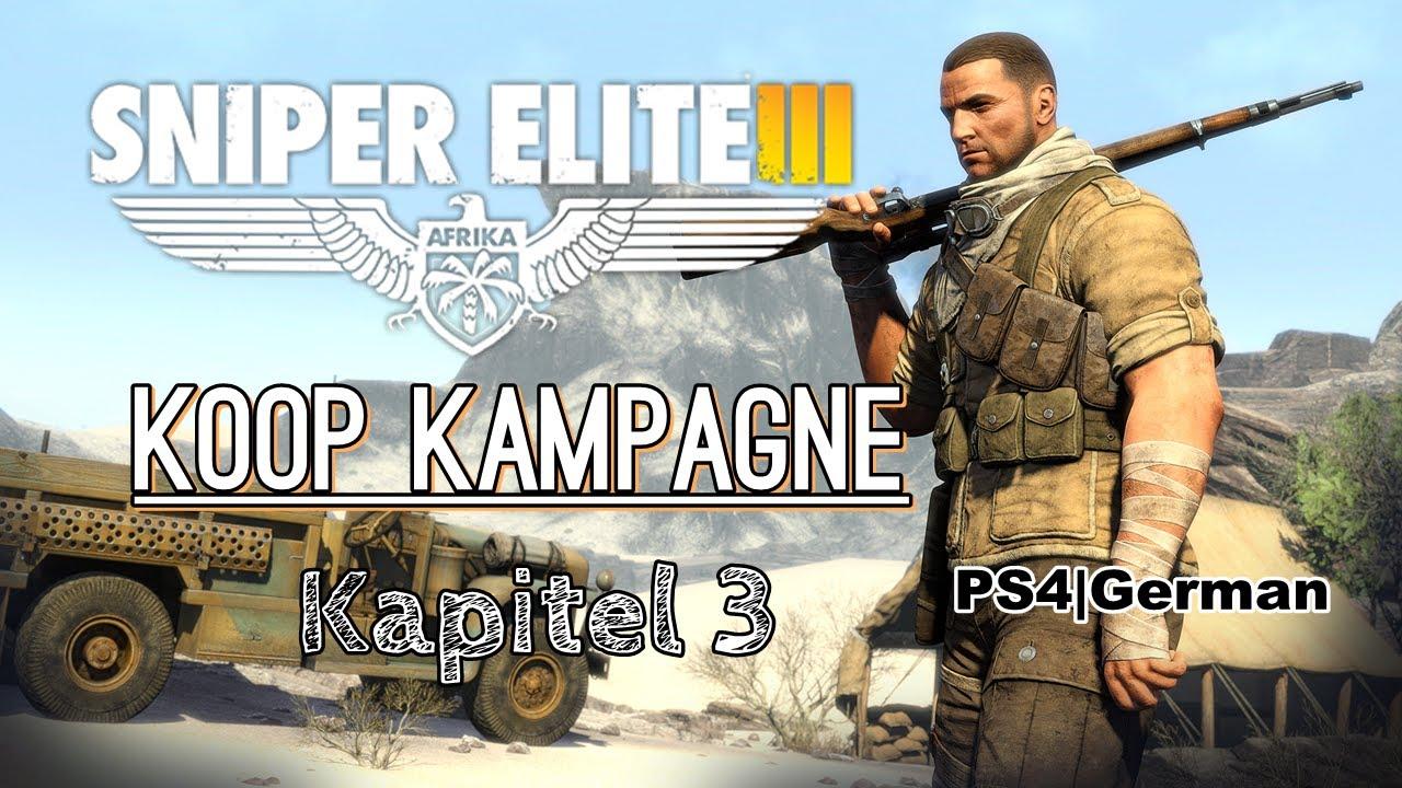 Sniper Elite 3 Koop Kampagne
