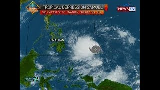 BT: Weather update as of 12:16 p.m. (Nov. 18, 2018)