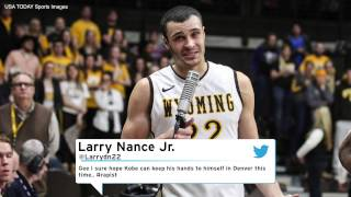Lakers Draft Pick Larry Nance Jr. Posted Insensitive Tweet About Kobe Bryant