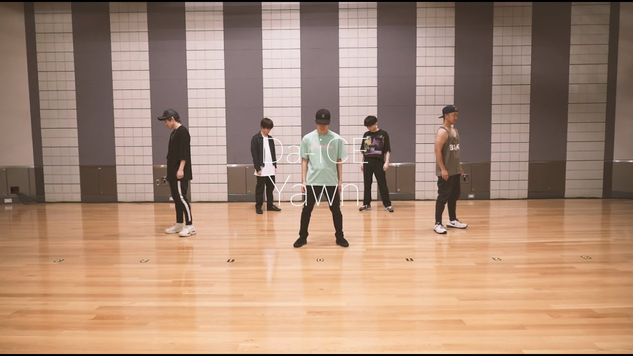 Da-iCE - 「Yawn」Official Dance Practice(from 5th album『FACE』)