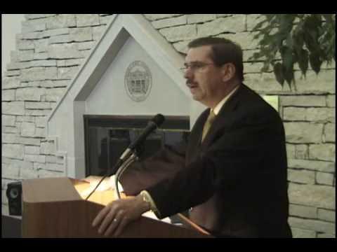 ESU President Lane Speaks at Chartering
