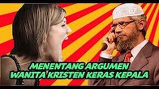 Video FIERCE..!! A Christian Lady Refute Dr Zakir Naik...Dr. Zakir Naik By Christian women Stubborn download MP3, 3GP, MP4, WEBM, AVI, FLV Januari 2018