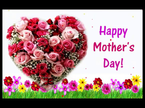 Happy Mothers Day Flowers Video Greeting Card 2018 Youtube