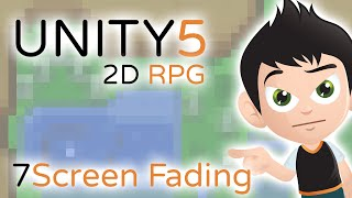 2D RPG Screen Fading and Events - Unity3D