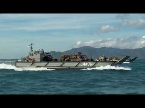 HMAS Canberra Operations Phase of Exercise TALISMAN SABER 2017