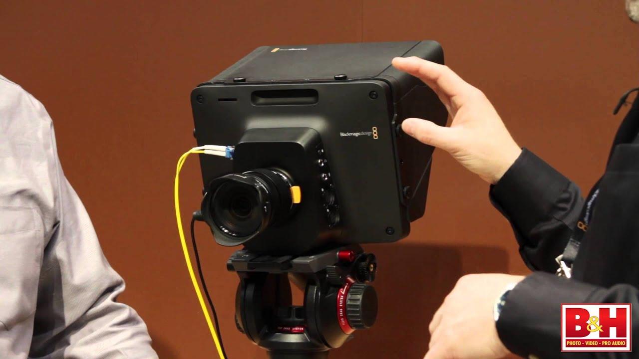 Blackmagic Design Studio Camera Nab 2014 Youtube