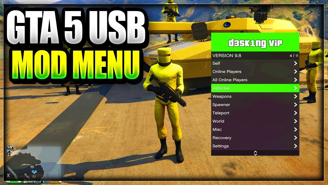 PS3 - USB MOD MENU TUTORIAL ON PS4/XBOX ONE/XBOX 360/PS3 NO
