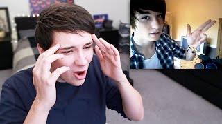 Repeat youtube video Dan Reacts to His Old Videos