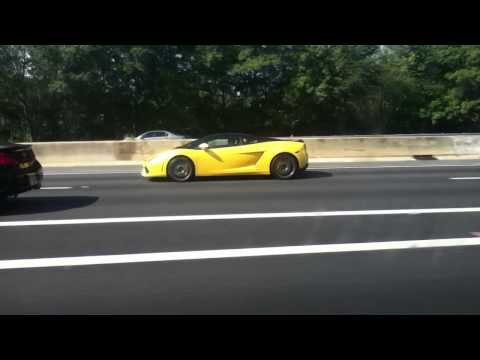 Yellow Lamborghini in Atlanta Georgia