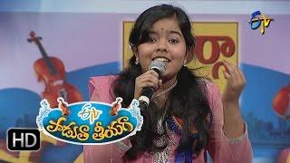 Pedave Palikina Matallone Song - Bhavana Performance in ETV Padutha Theeyaga - 18th July 2016