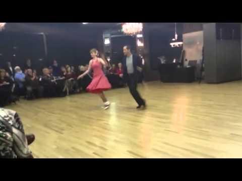 Emily Scott & Jake Fisher swing to