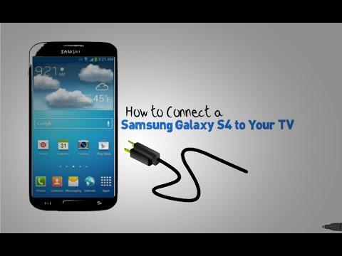 connect samsung galaxy s4 to tv via hdmi