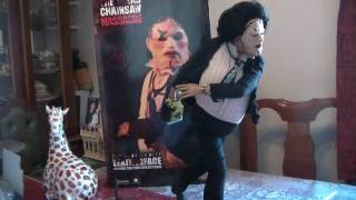 Texas Chainsaw Massacre Premium Format Leatherface Sideshow Exclusive Edition #108 out of 200